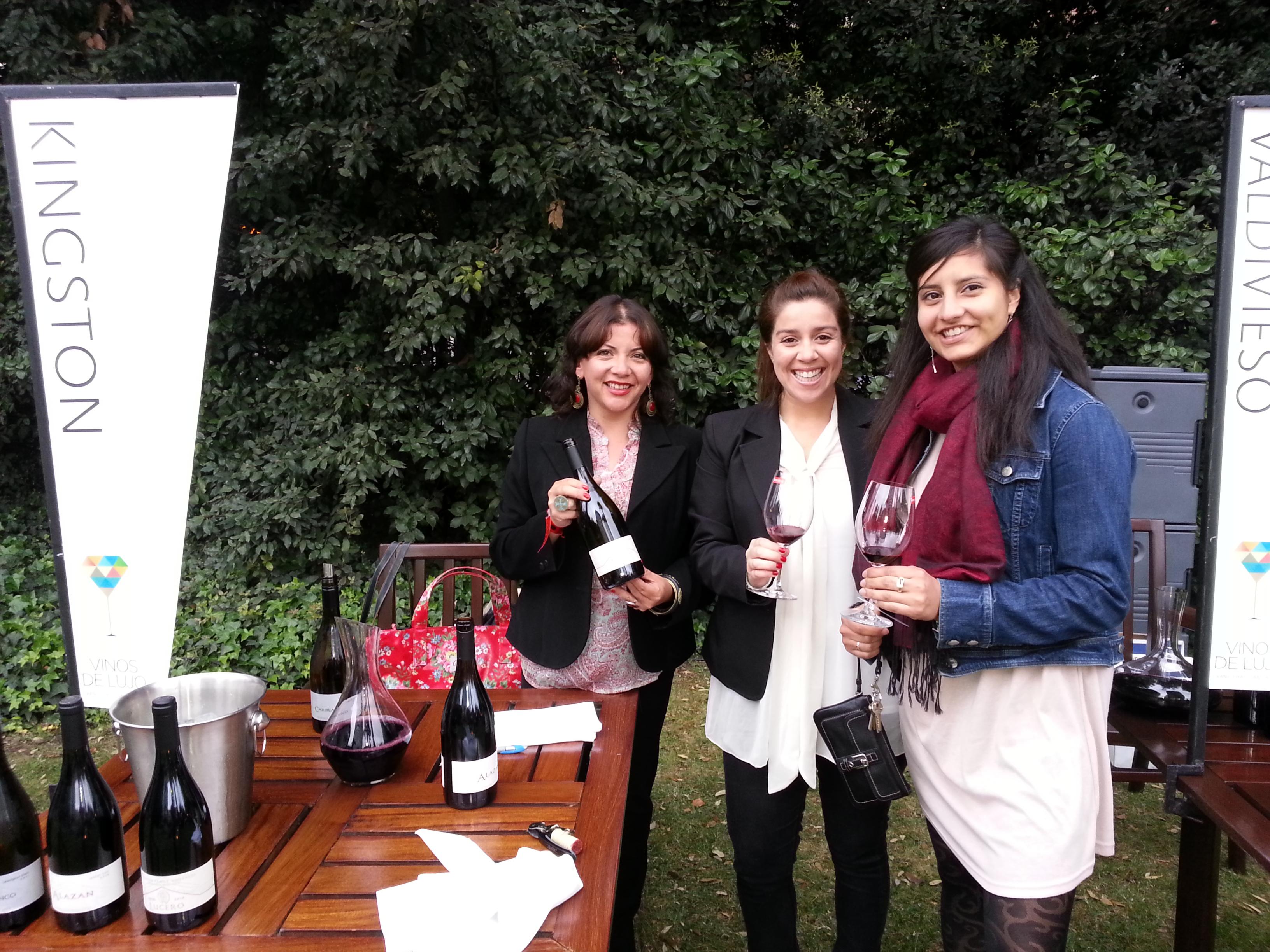 Kingston Family Vineyards at Descorchados Feria de Vinos de Lujo 2012
