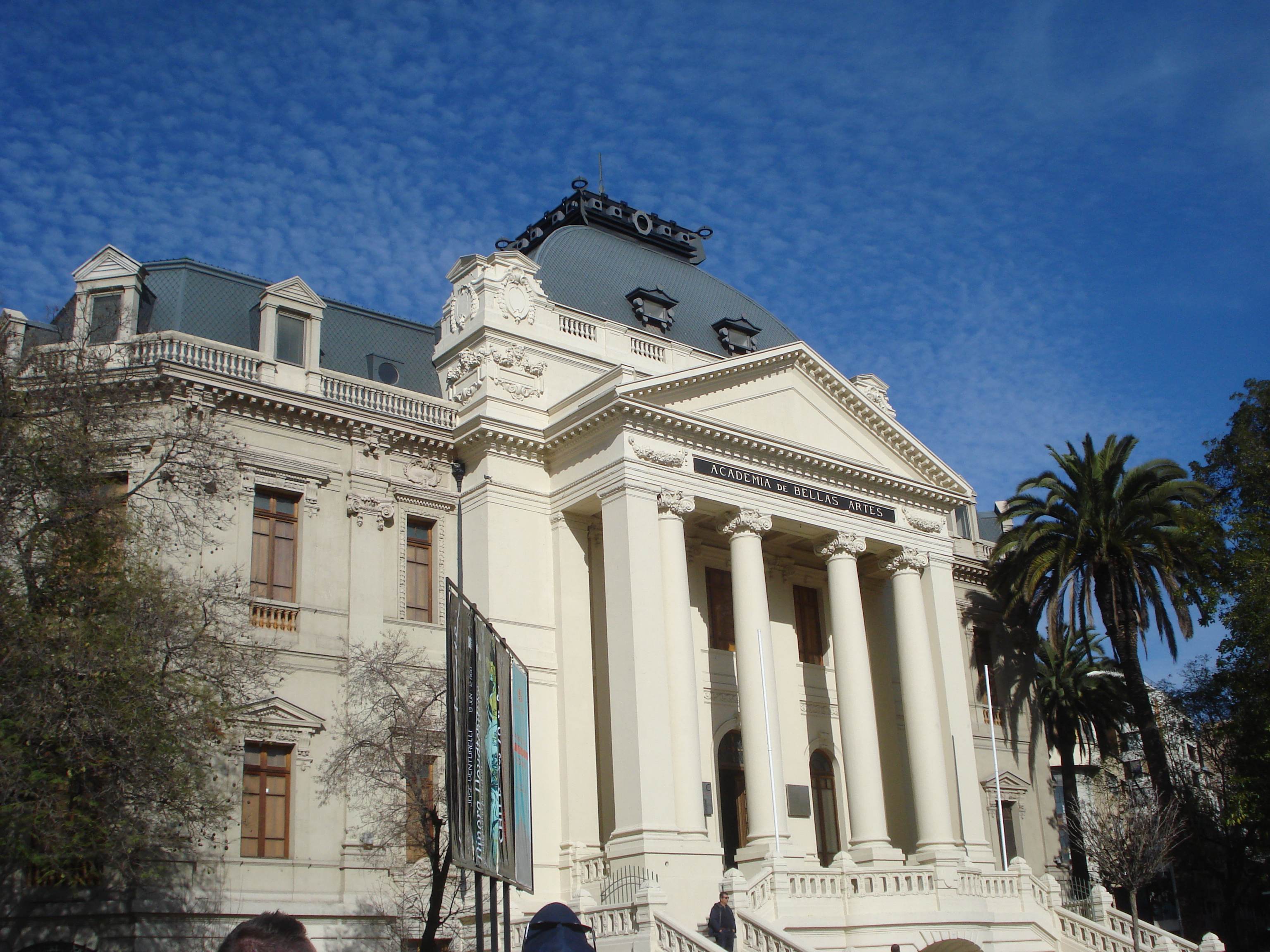 Museo Nacional de Bellas Artes located near the Lastarria Boutique Hotel
