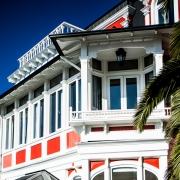 Outside view of Palacio Astoreca in Valparaíso.
