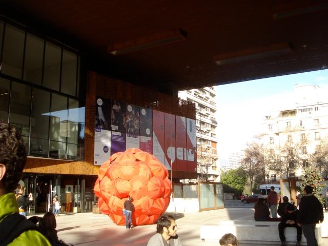 The Gabriela Mistral Cultural Center, Santiago Chile