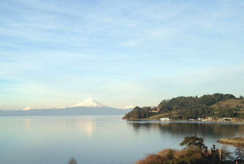 Volcán Osorno towers over Lago Llanquihue, Chile's second largest lake.