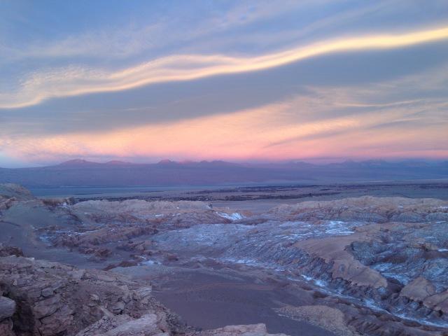 Atacama_overlooking valle de la luna 2