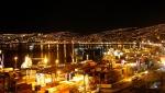 Lights glitter at night. Photo credit: Luis Adrian Crescentino Memoli